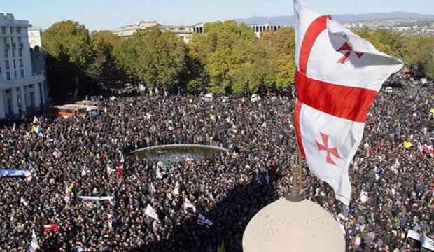 Rosenrevolution 2003 in Georgien