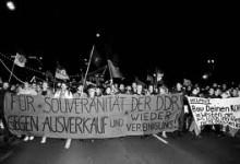 Gegen die Wiedervereinigung
