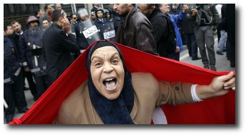 Revolution du Jasmin 2011 Tunesien